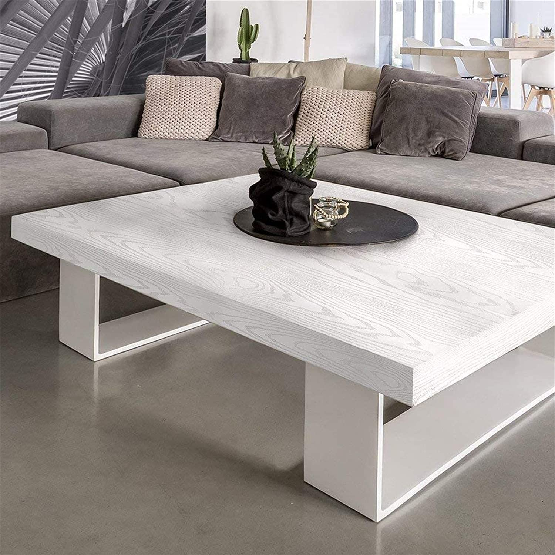 Vinilo imitación madera color blanco